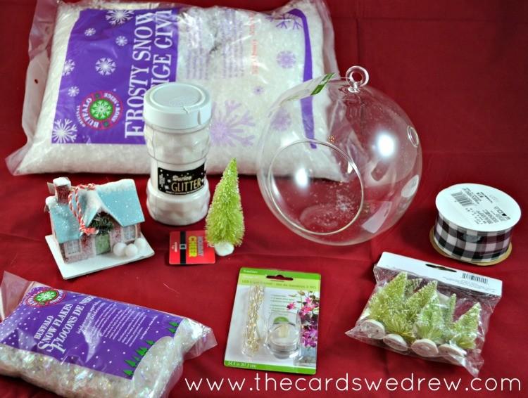 christmas terrarium supplies