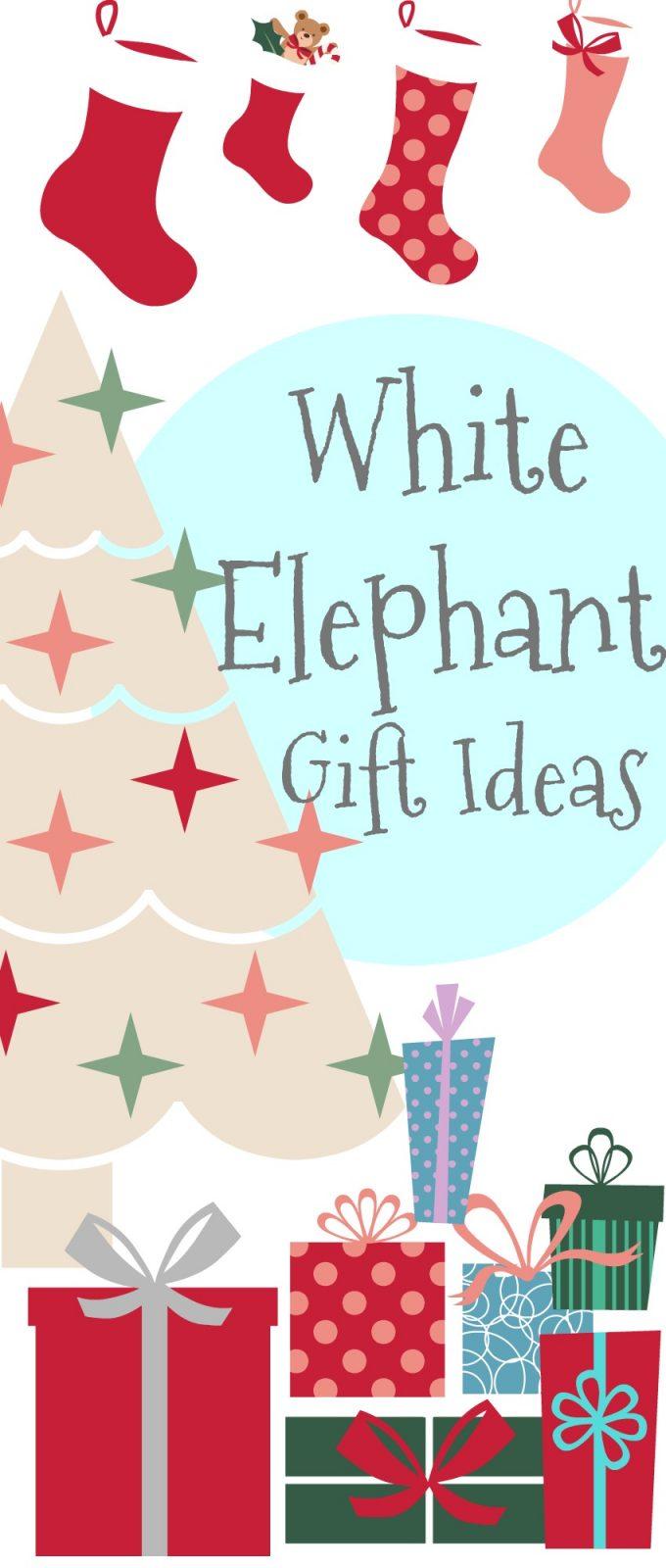 white elephant gift ideas