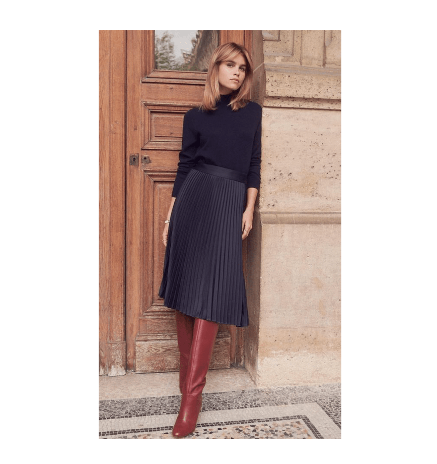 Outfit ideas for business casual office wear in winter