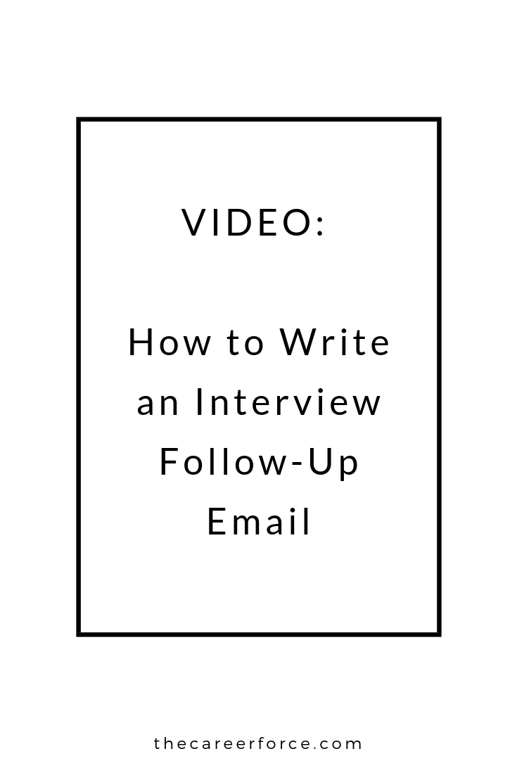 How to Write an Interview Follow-Up Email or Thank You