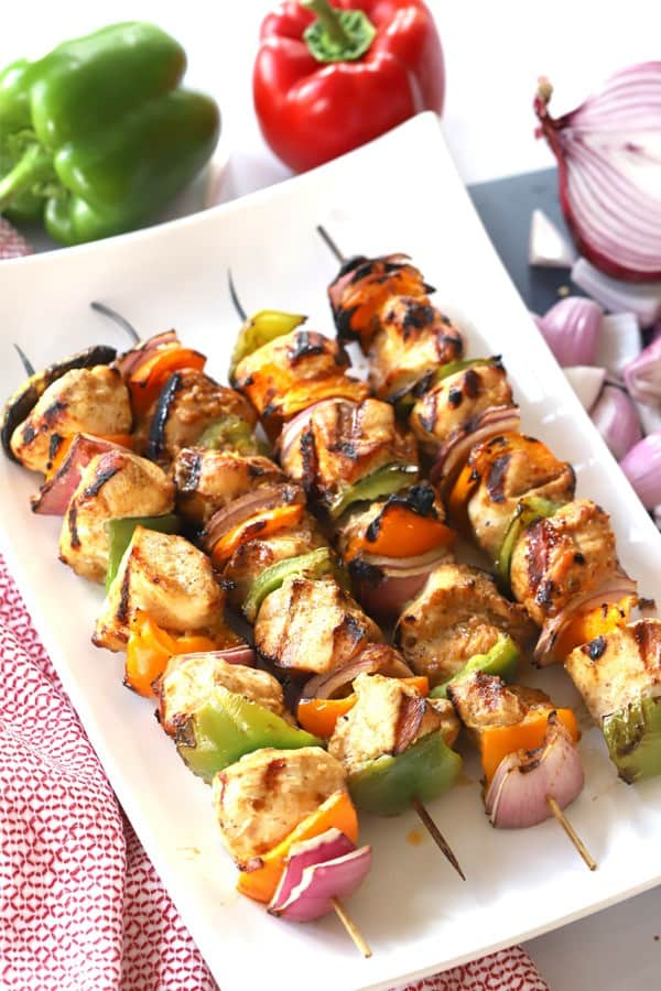Southwest Chicken Kabobs