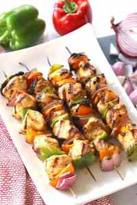 southewest Chicken shish kabobs