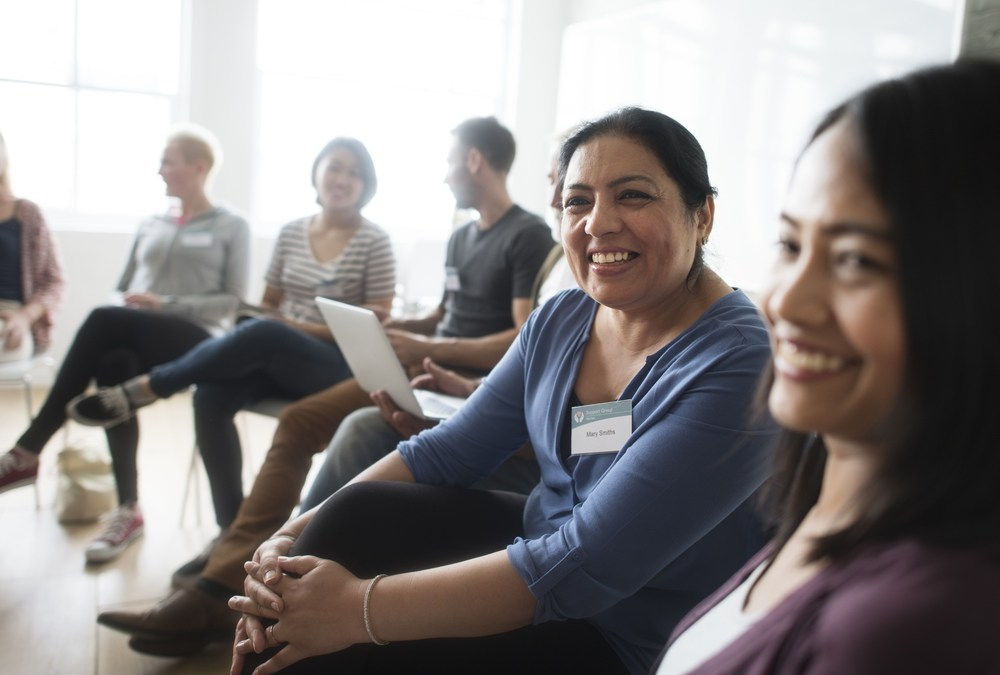 Do in-person caregiver support groups help?