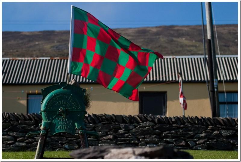 Flag on Saint Patrick's Day