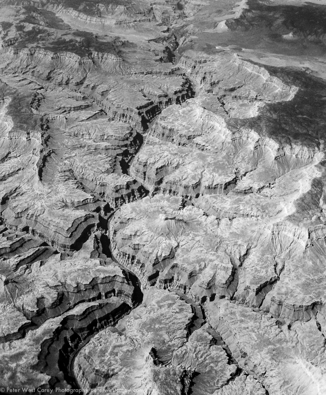 Grand Canyon From The Sky