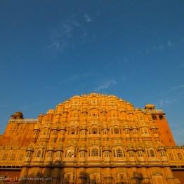 Hawa Mahal at sunrise, Jaipur, India
