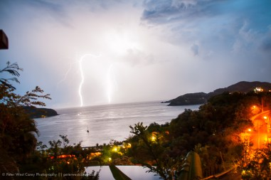 Lightening Storm, Zihuatanejo, Mexico