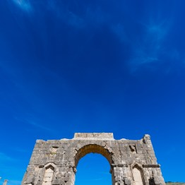 Ancient Ruins At Volubilis, Morocco