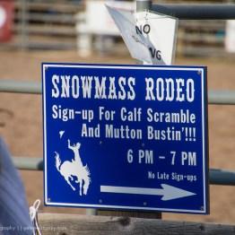 Snowmass Rodeo, Snowmass, Colorado, USA
