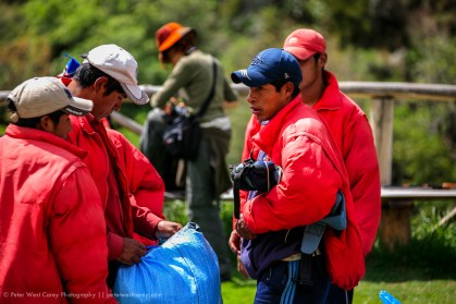 Porters, Inca Trail, Peru