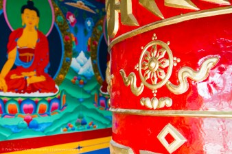 Prayer Wheel, Nepal