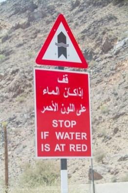 Omani Warning, Oman