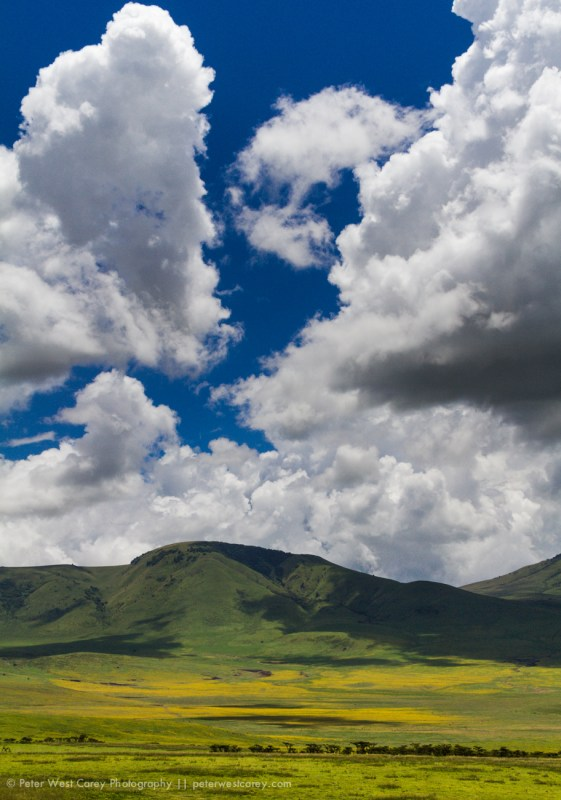 Clouds Over Ngorongoro Conservation Area Pastures, Tanzania