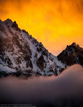 Alpenglow, Gokyo, Nepal