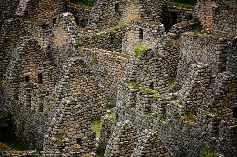 Ancient Homes, Machu Picchu, Peru