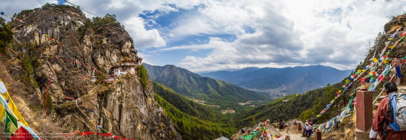 Taktsang Palphug Monastery (Tiger's Nest), Paro, Paro District,