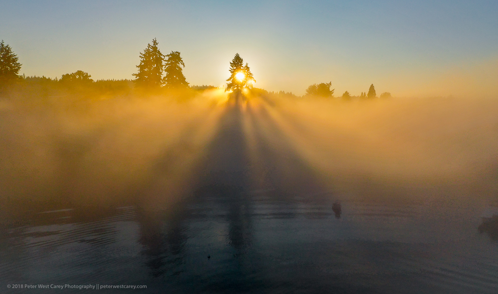 Photo Of The Day – Glorious Sunset Fog