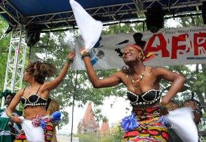 Afrofest happens each July at Woodbine Park.