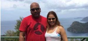 Ravina Budhooram and her dad