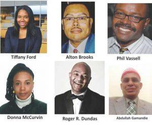 Tiffany Ford, Alton Brooks, Phil Vassell,   Abdullah Gamandie, Donna McCurvin, Roger R. Dundas