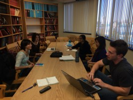 Carlton group interviews with The Daily Targum (Fall 2013)