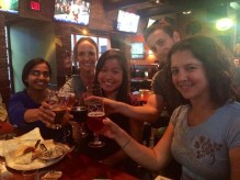 Cheers from the Carlton group (Fall 2014)