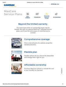 Carmax Extended Warranty >> Maxcare Warranty Makes Unicorn Ownership Affordable The Carmax