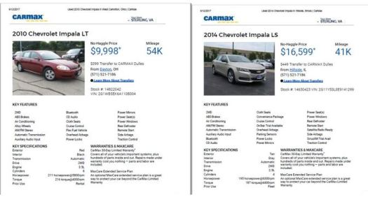 Slow but Smart Impala Choices