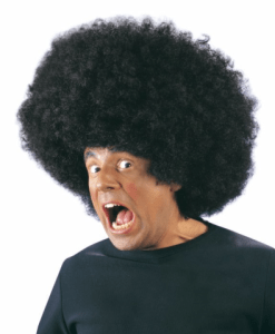 BLACK OVERSIZED JIMMY WIG