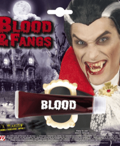 BLOOD GLE IN TUBE WITH FANGS
