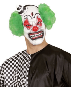 KILLER CLOWN HALF FACE
