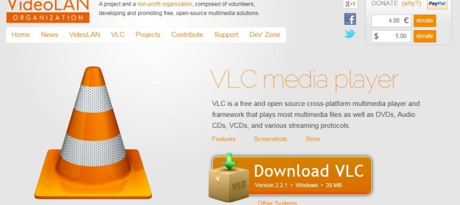 VideoLan – Media Player