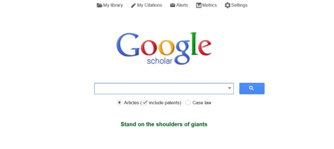 Google Scholar – The Google you probably don't know about…