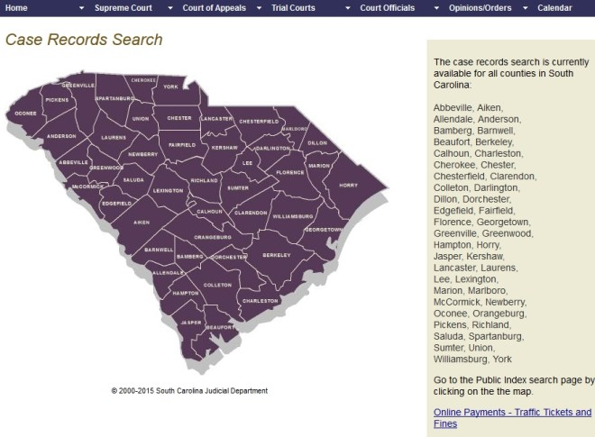 SC Court Records Search