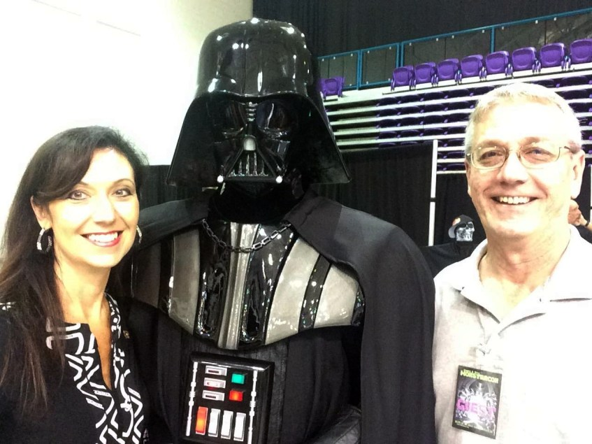 David Ervin, Tiffany Ervin, Darth Vader