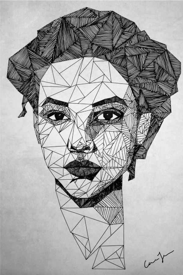 Illustration Portrait Drawing