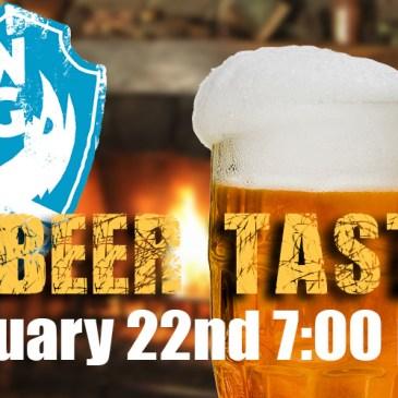 BrewDog Brewery Beer Tasting | January 22nd