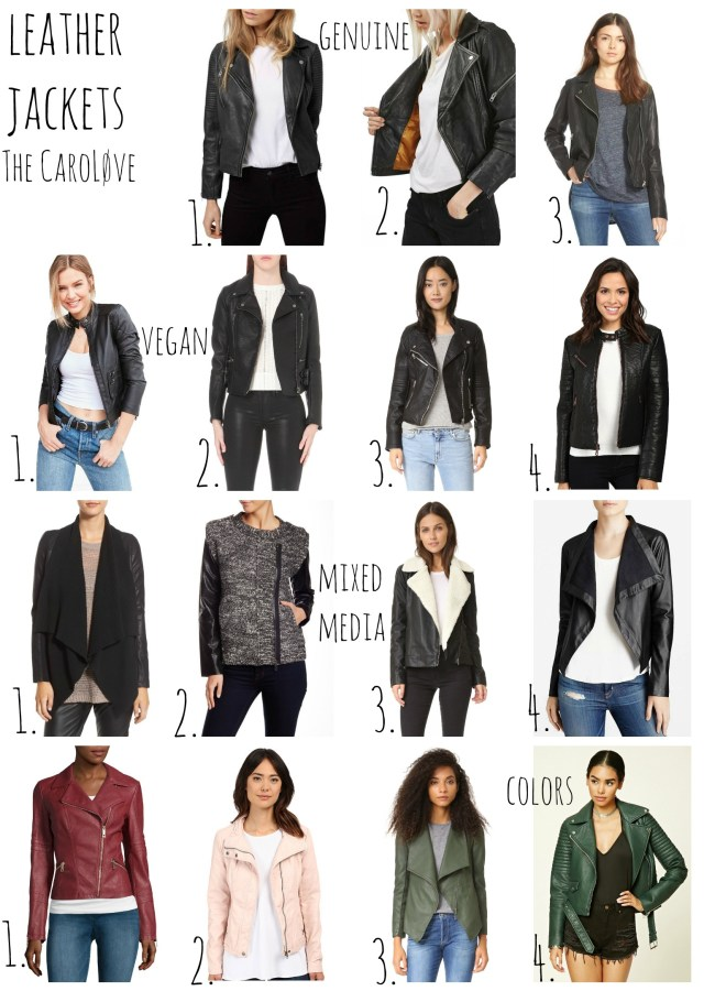leather jackets fall 2016
