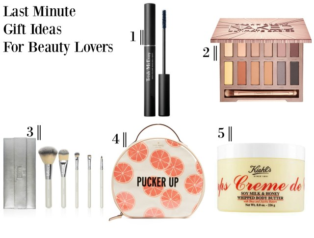 the carolove Last Minute Gift Ideas For Beauty Lovers