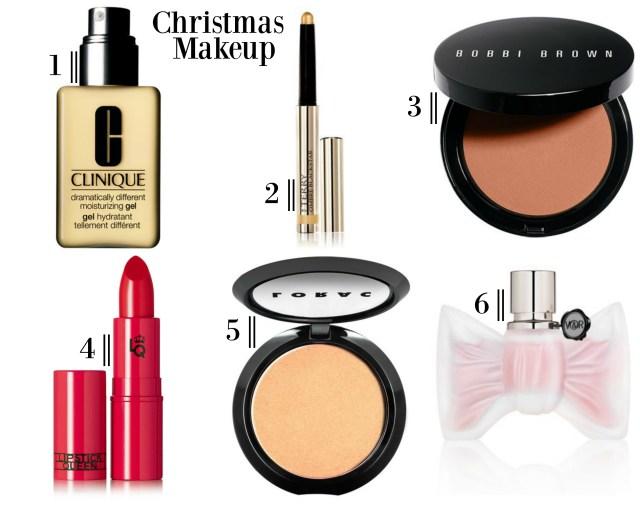 the carolove christmas makeup