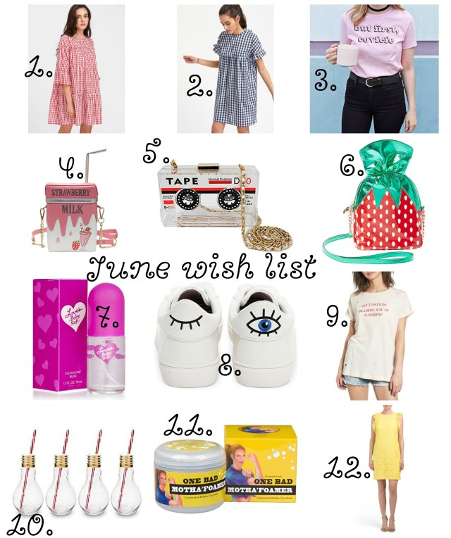 the carolove june wish list
