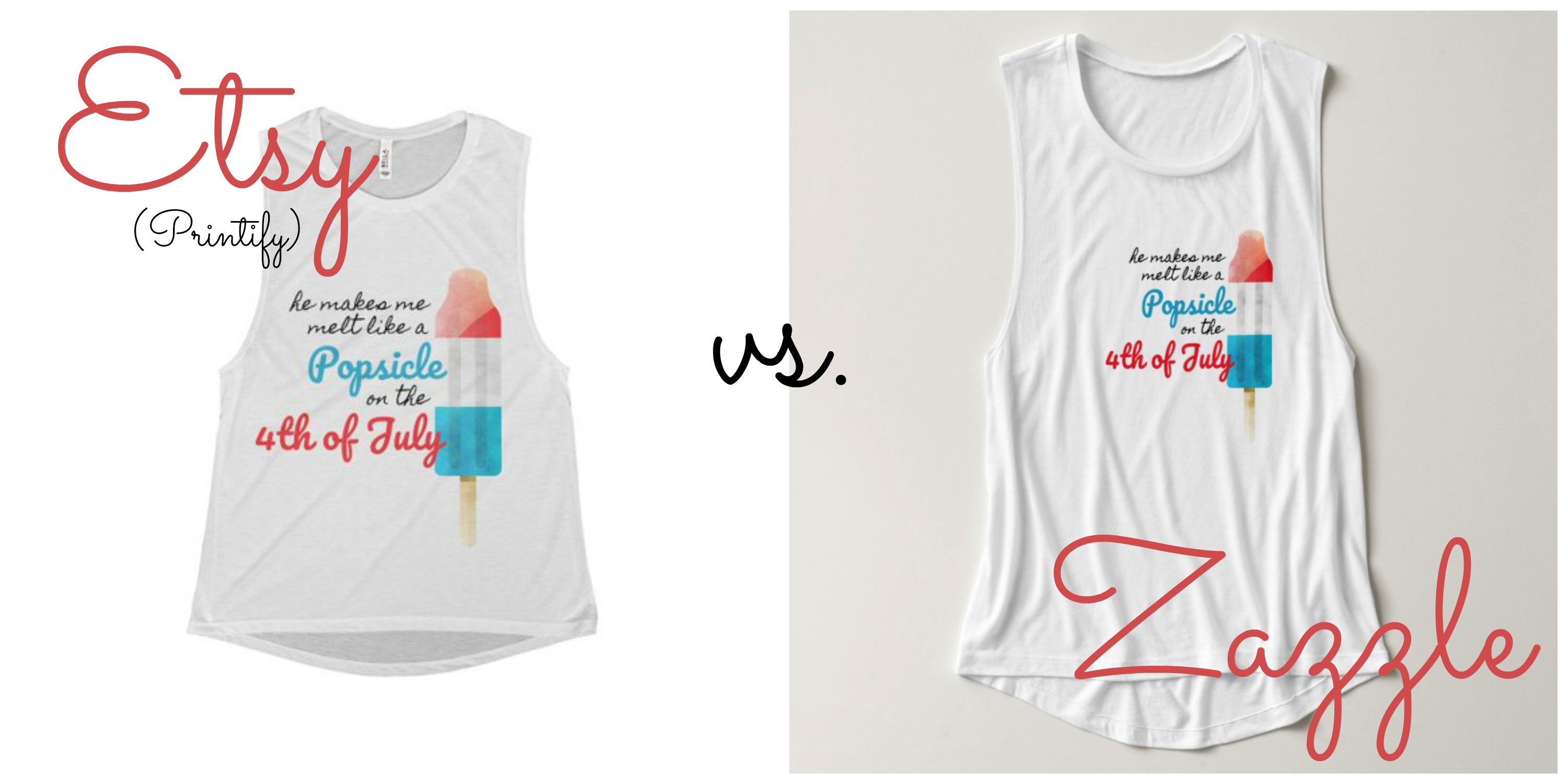 Etsy + Printify vs  Zazzle