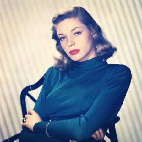 Hollywood movie star Lauren Bacall