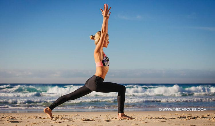 Yoga Pose Of The Week: Master Your Alignment With The Crescent Pose 1