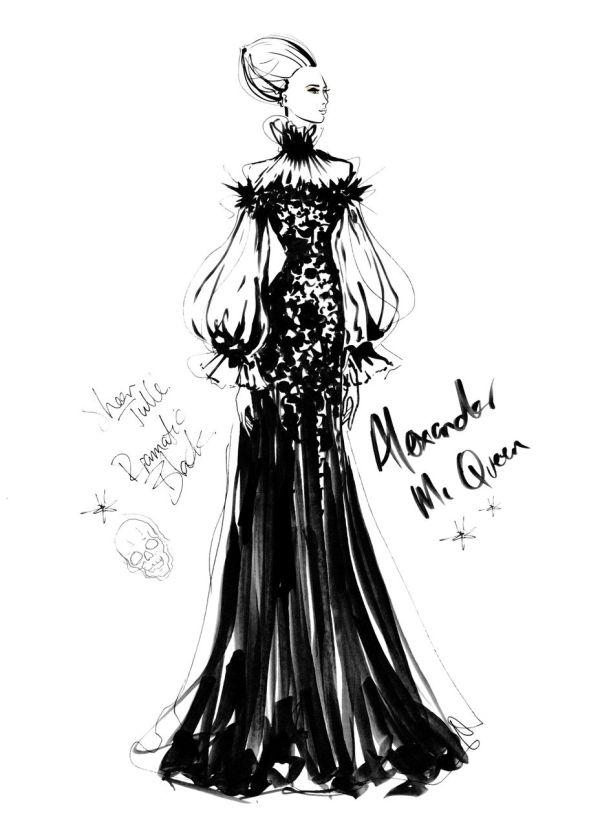 Megan Hess Fashion Illustration Sketch