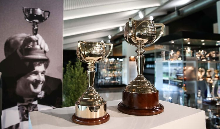 The Bart Cummings Trophy Collection Unveiled At Flemington