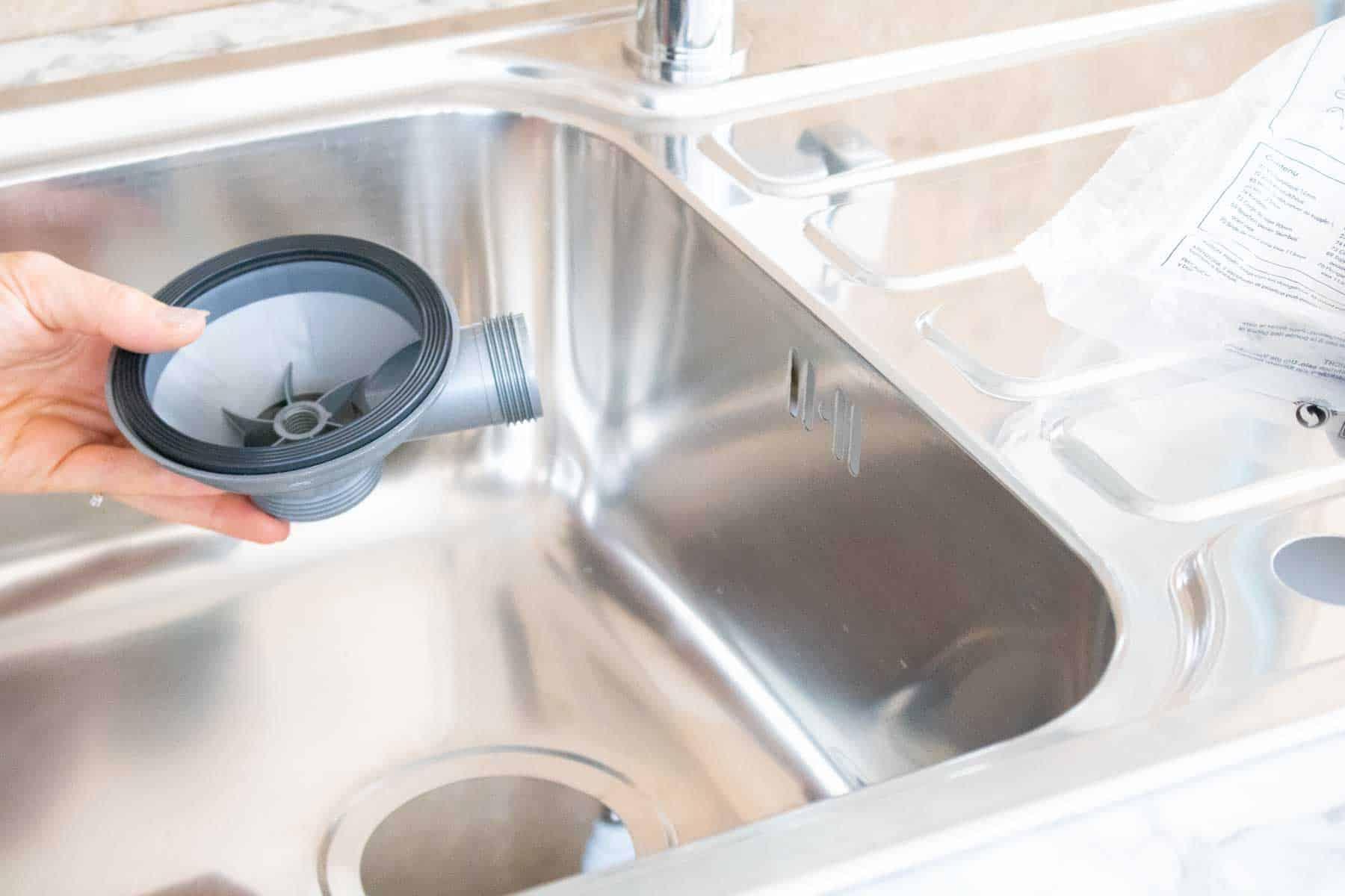 plumbing kitchen sink waste trap
