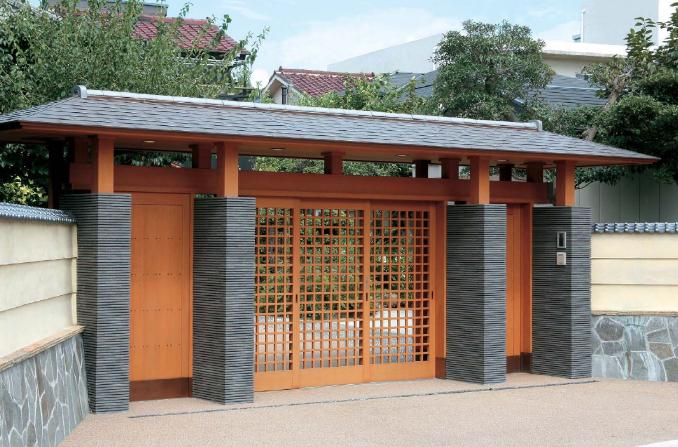 Japanese Gate Types Page 5 The Carpentry Way