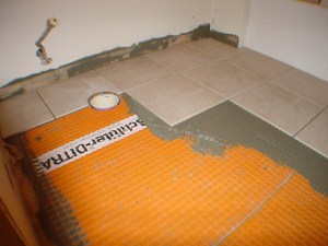 Duluth, MN construction home remodeling bathroom tiling