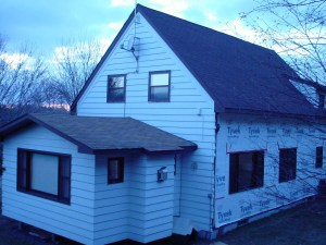 Duluth, MN construction home remodeling siding job